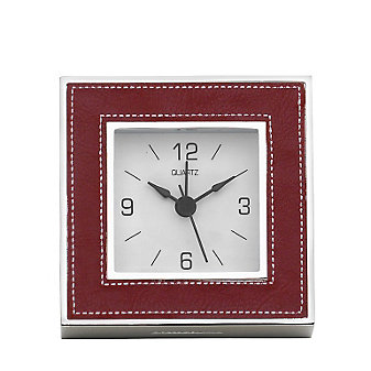 Reed & Barton James Poppy Clock