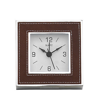 Reed & Barton James Chestnut Clock