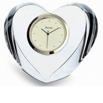 Baccarat_Heart_Clock