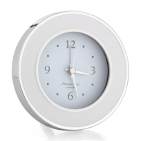 addison_ross_white_&_silver_alarm_clock