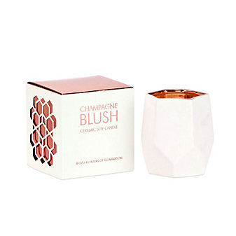D.L. & Company Champagne Blush Small Candle