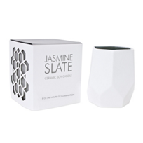 D.L._&_Co._Small_Jasmine_Slate_8_Oz._Ceramic_Soy_Candle