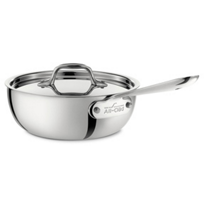 All-Clad_Stainless_Saucier_with_Lid,_2qt
