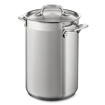 All-Clad Stainless Asparagus Pot with Insert, 3.75qt