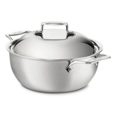 All-Clad Stainless Dutch Oven with Lid - 5.5QT