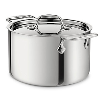 All-Clad Stainless Casserole with Lid, 4qt