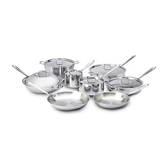 All-Clad Stainless Steel 14 Piece Set