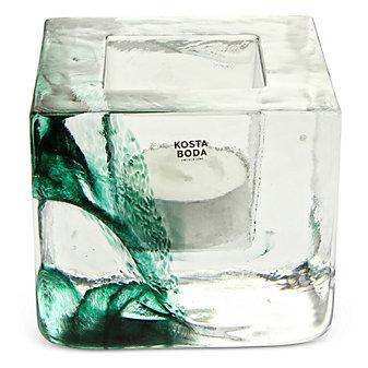 Kosta Boda's Brick Votive Green