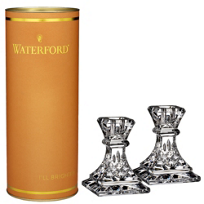 "Waterford_Lismore_4""_Candlesticks,_Pair"