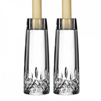"Waterford_Lismore_Encore_Candlestick_7""_Pair"