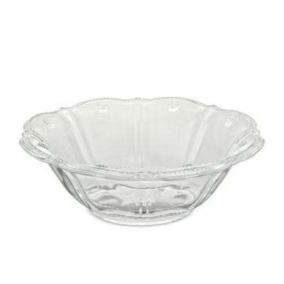 Juliska Colette Dessert Bowl, Clear