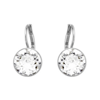 Swarovski_Rhodium-Plated_Bella_Mini_Pierced_Earrings