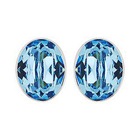 Swarovski_Bis_Aquamarine_Crystal_Pierced_Earrings