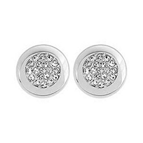 Swarovski_Stone_Stud_Gray_Pierced_Earrings