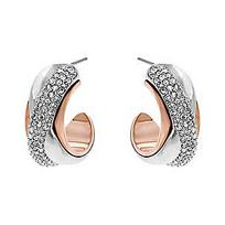 Swarovski_Wave_Pierced_Earrings