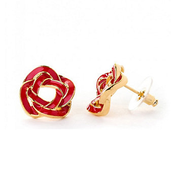 Spartina 449 Red Sailors Knot Earrings