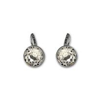 Swarovski_Bella_Black_Pierced_Earrings
