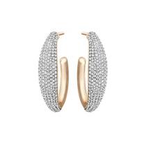 Swarovski_Circlet_Large_Hoop_Pierced_Earrings_