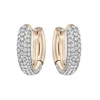 Swarovski_Circlet_Small_Hoop_Pierced_Earrings_