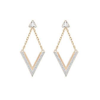 Swarovski Delta Pierced Earrings