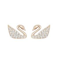 Swarovski_Swan_Mini_Pierced_Earrings_