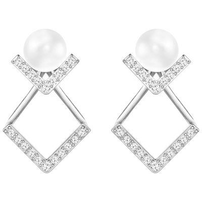 Swarovski Edify Pierced Earrings