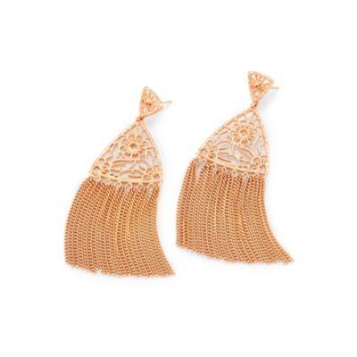 kendra scott ana rose tone tassel earrings