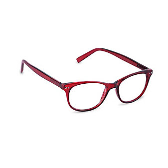 Peepers Finishing Touch Red Women's Readers, x1.50