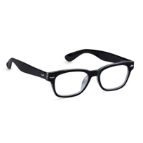 Peepers_Simply_Black_Unisex_Readers,_x2.50