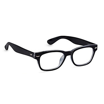 Peepers Simply Black Unisex Readers, x2.50