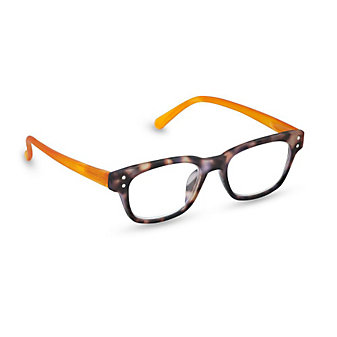 Peepers Style One Tortoise/Orange Unisex Readers, x2.50