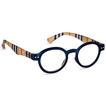 Peepers Style Sixteen Navy Unisex Readers, x2.25
