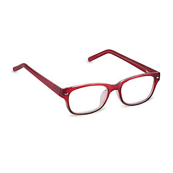 Peepers Artisan Red Unisex Readers, x2.75