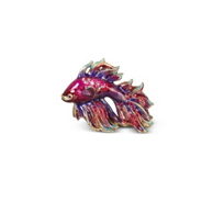 Jay_Strongwater_Tropical_Jeremiah_Fighting_Fish_Mini_Figurine