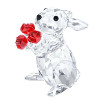 Swarovski_Rabbit_with_Roses