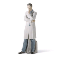 Lladró_Male_Doctor