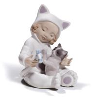 Lladro_My_Playful_Kitty