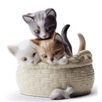 Lladro_Curious_Kittens