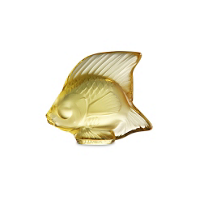 Lalique_Yellow_Gold_Fish_Sculpture