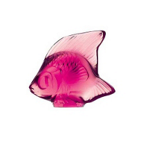 Lalique_Fuschsia_Fish_Sculpture