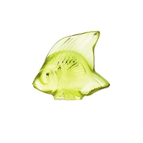 Lalique_Anise_Green_Fish_Sculpture