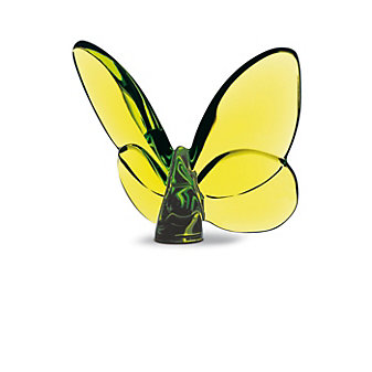Baccarat Green Papillon Lucky Butterfly