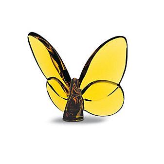 Baccarat Amber Papillon Lucky Butterfly