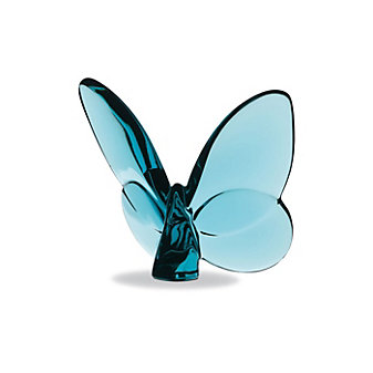 Baccarat Turquoise Lucky Butterfly