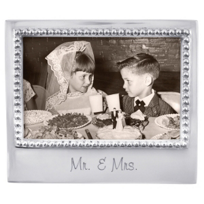 "Mariposa_""Mr._&_Mrs.""_Statement_4X6_Picture_Frame"