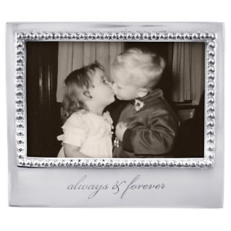"Mariposa ""Always and Forever"" Frame, 4"" x 6"""