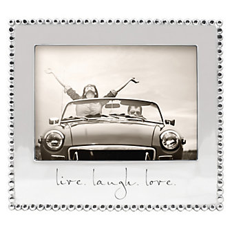 """Mariposa """"live. laugh. love."""" Frame, 5""""x7"""""""