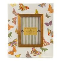 "MacKenzie-Childs_Butterfly_Garden_White_Frame,_5""x7"""