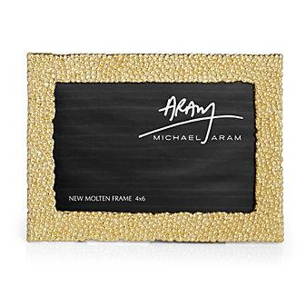 Michael Aram Molten Gold Frame, 4x6