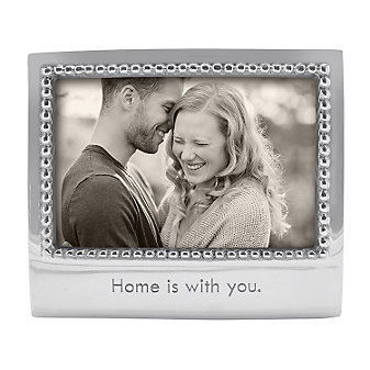 "Mariposa Home is With You 4x6"" Frame"